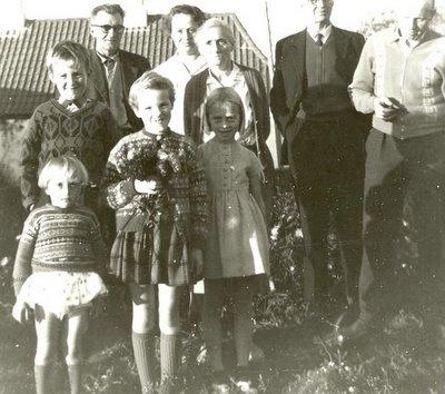 Familiebillede fra ca 1965