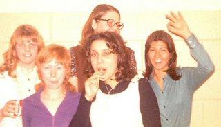Classmates New Rockfort januar 1973. Iara yderst til højre