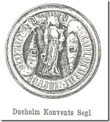 Dueholm Konvents Segl