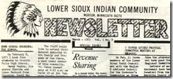Lower Sioux Indian Community Newsletter