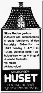 Aktivitetsannonce Medborgerhuset i Skive