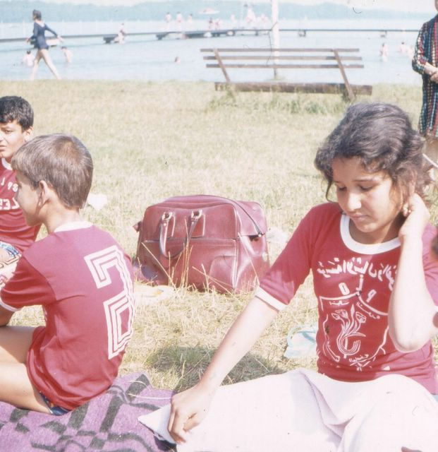 Palæstinensere i pionerlejr i DDR i 1980