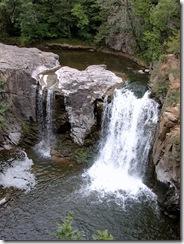 The falls in Ramsey Park Redwood Falls Minnesota 2004